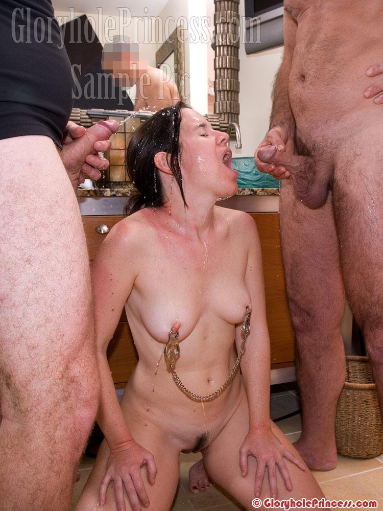 Wife loves golden showers